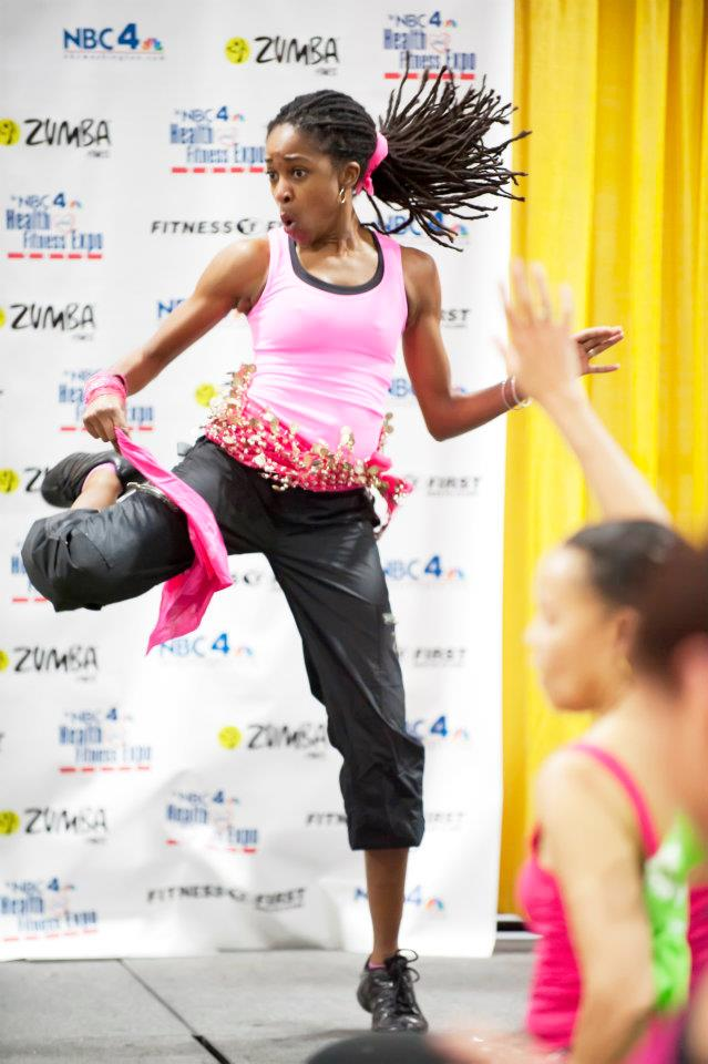 Allisonzumba expo