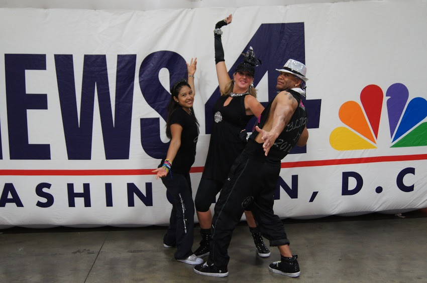 NBC4 Fitness Expo ZUMBA Demo